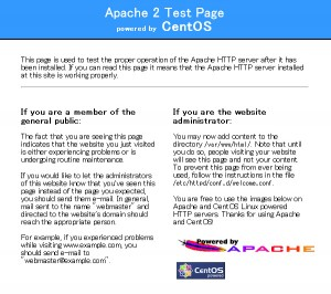Apache2 Test Page
