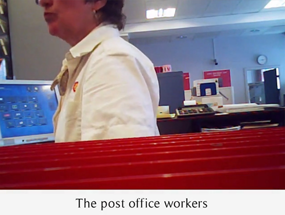 The post office workers