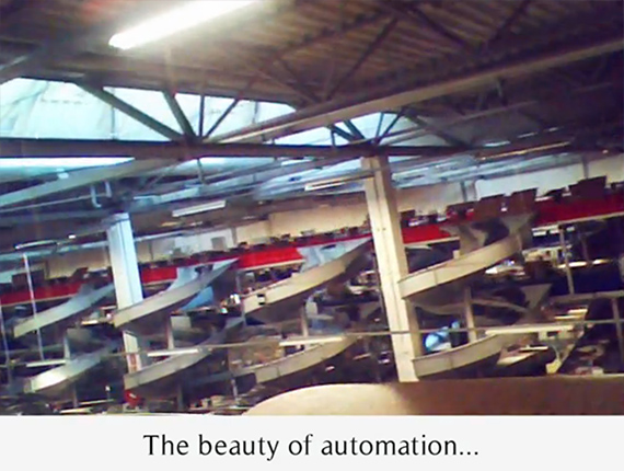 The beauty of automation...