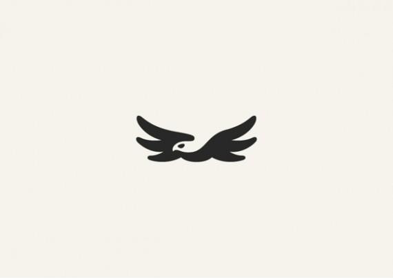 ワシのシンプルロゴ