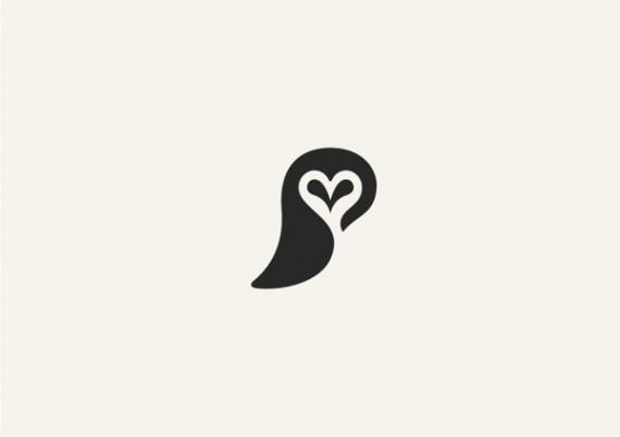 フクロウのシンプルロゴ