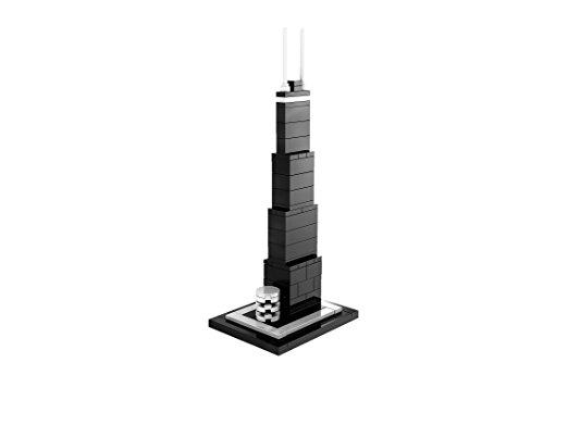 ジョンハンコックセンターのレゴアーキテクチャー