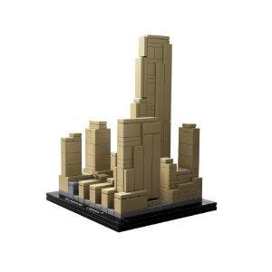 ロックフェラーセンターのレゴアーキテクチャー
