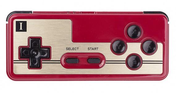 ファミコン型Bluetoothゲームパッド