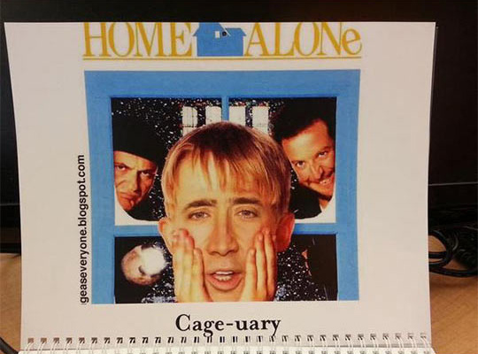 Cage-uary