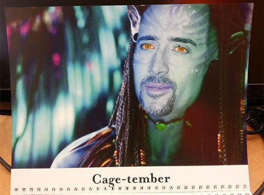 Cage-tember