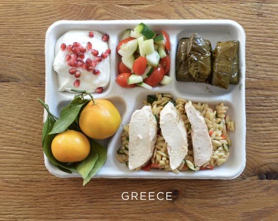 ギリシャの給食