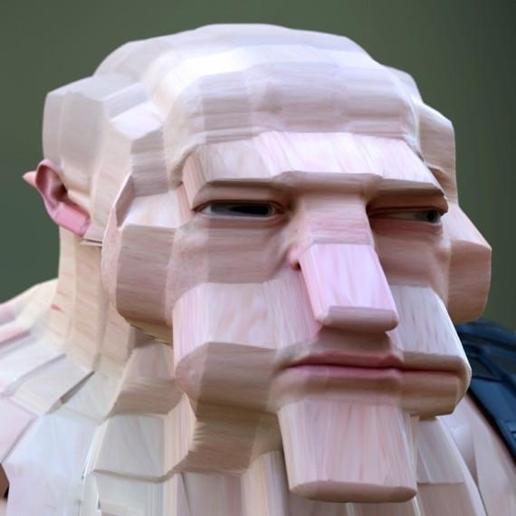 3D変顔3