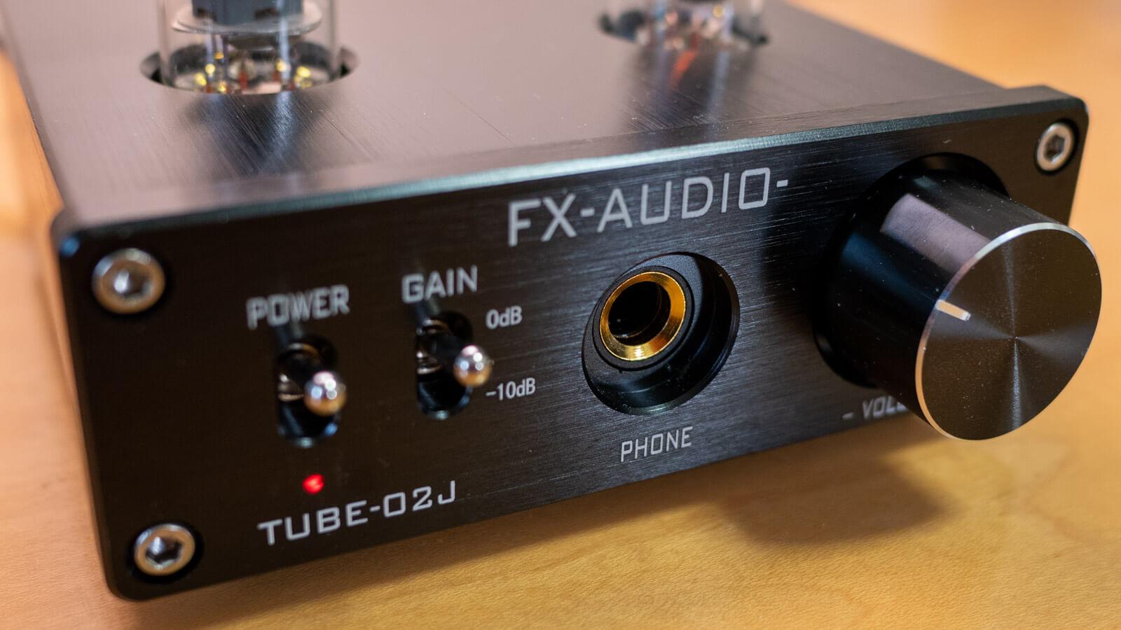 TUBE-02JのPHONE端子のアップ