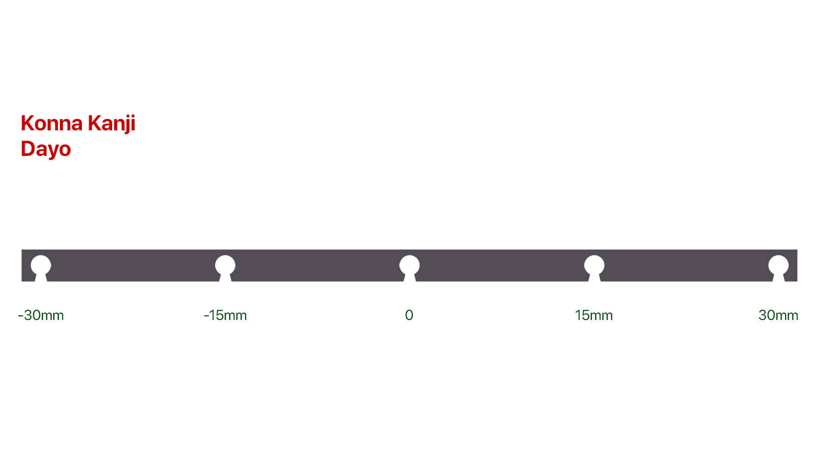 エアコンルーバー裏のフィン連結部の設計図