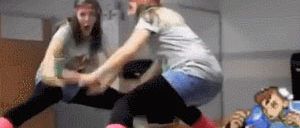 自爆した女性のつじつまを合わせる春麗GIF集