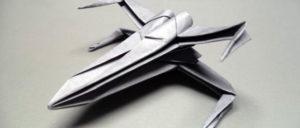 折り紙でX-Wing